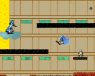 Regular show escape from Ninja Dojo Ninja j�t�kok