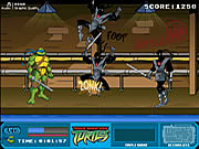 Teenage mutant ninja turtles foot clan street brawl online j�t�k